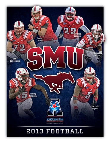 pretty nice a3d01 001af 2013 SMU Football Factbook by SMU Athletics - issuu
