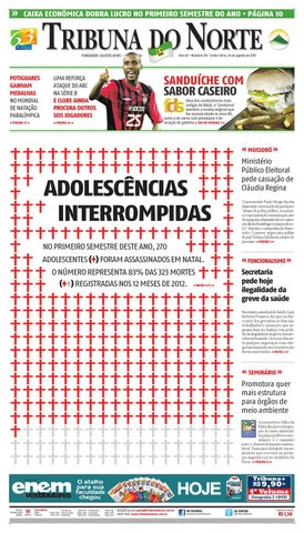 Tribuna do Norte - 16 08 2013 by Empresa Jornalística Tribuna do ... 0235f32d2adcf