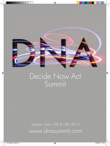 Dna magazine 2013 by dna magazine issuu page 1 malvernweather Images