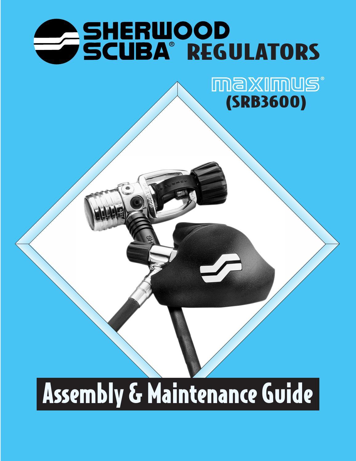 Sherwood Scuba Regulator LP Adjusting Orifice Part Dive Part 41-4006-20A