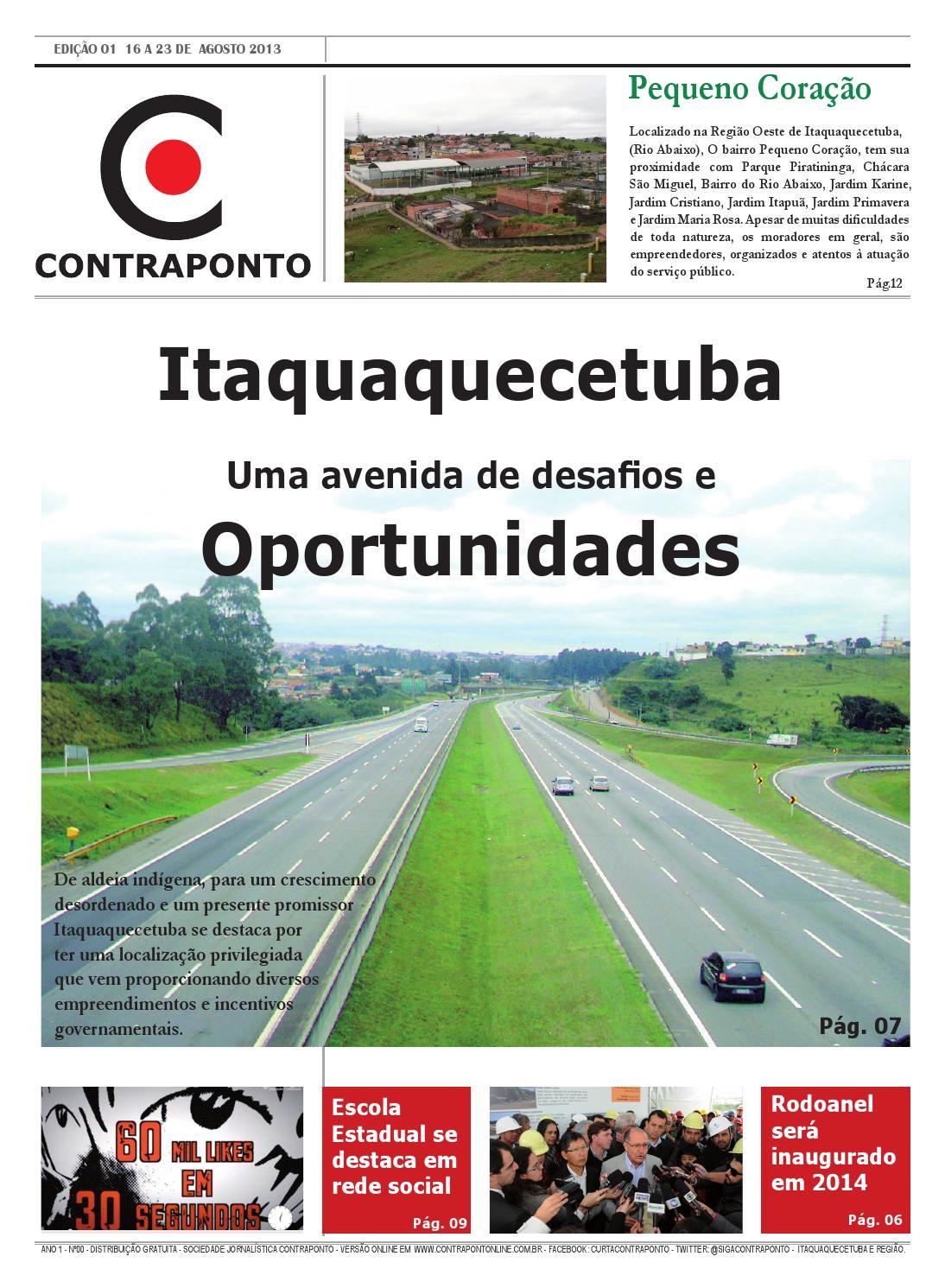 c441bd9bca69c Jornal Contraponto edição 01 by Contraponto - issuu