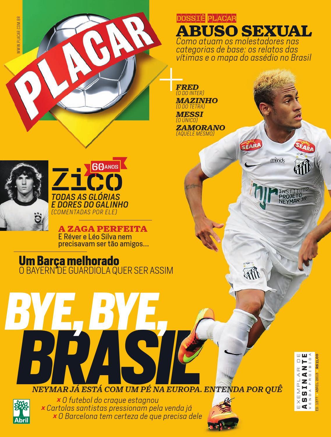 fafaf33b7f Revista Placar by Revista Placar - issuu