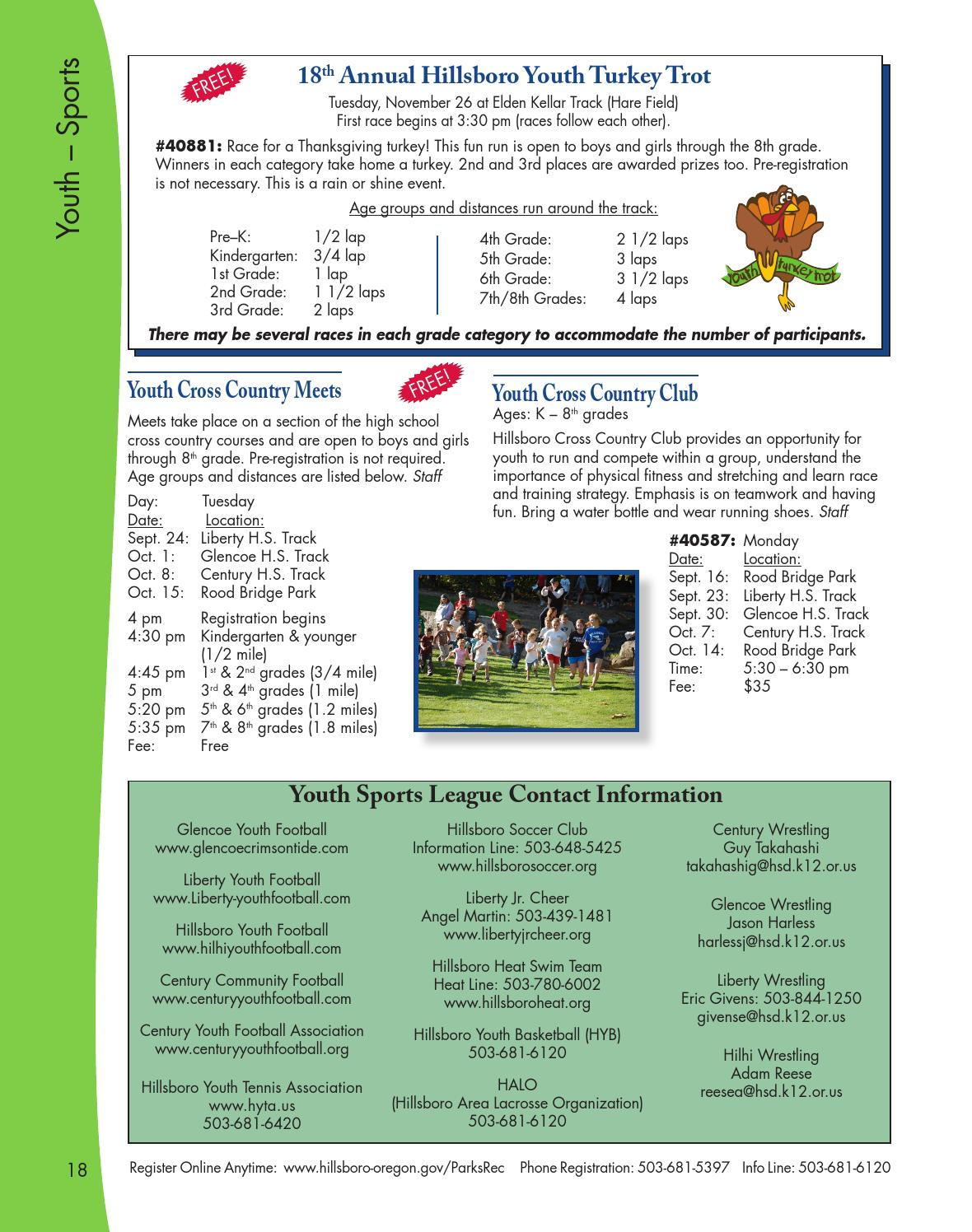 Hillsboro Parks & Recreation Fall 2013 Activities guide by