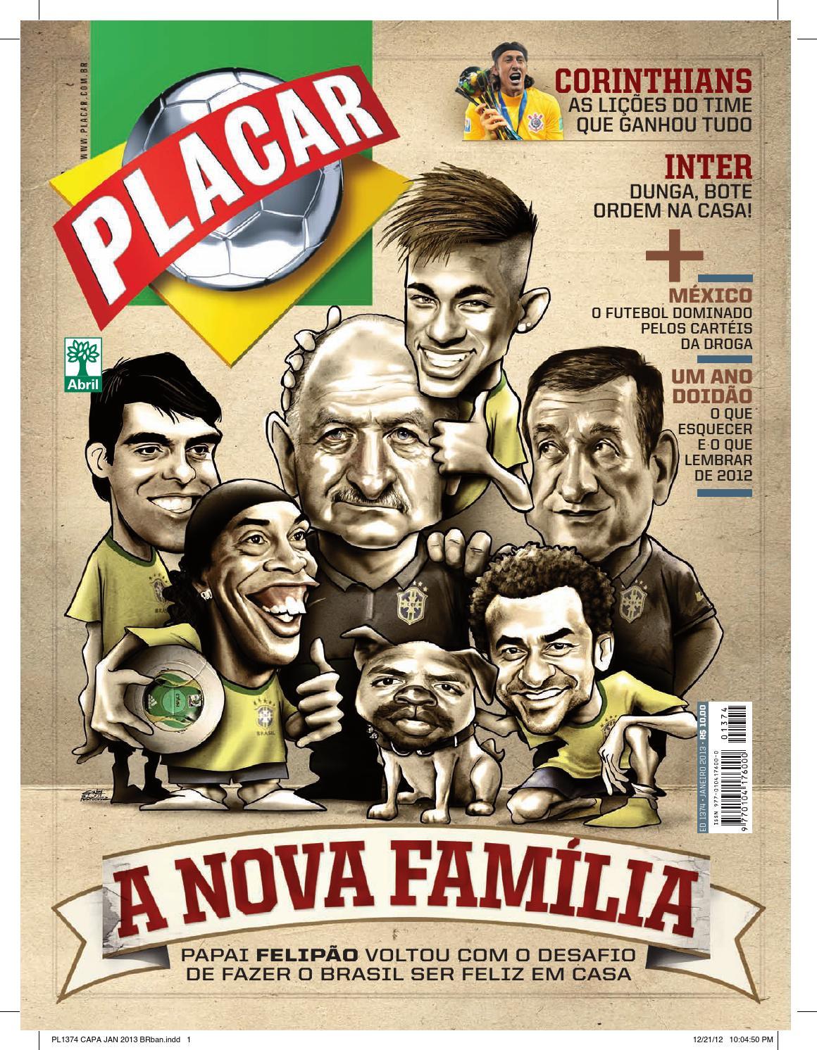 Revista Placar by Revista Placar - issuu e263996413ebf