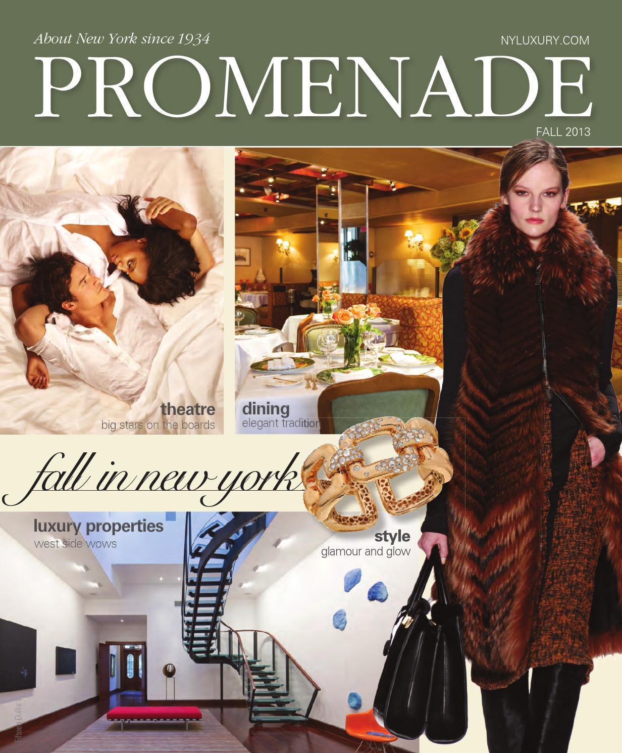 f8121f7ab7 Promenade - Fall 2013 by Promenade Magazine - issuu