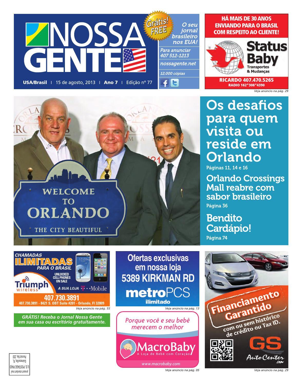 b0579beddc615 Nossa Gente 77 by Nossa Gente - issuu