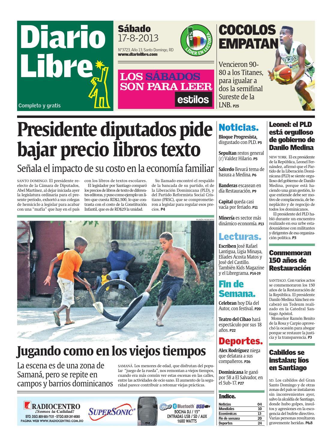 Diariolibre3723 by Grupo Diario Libre, S. A. - issuu