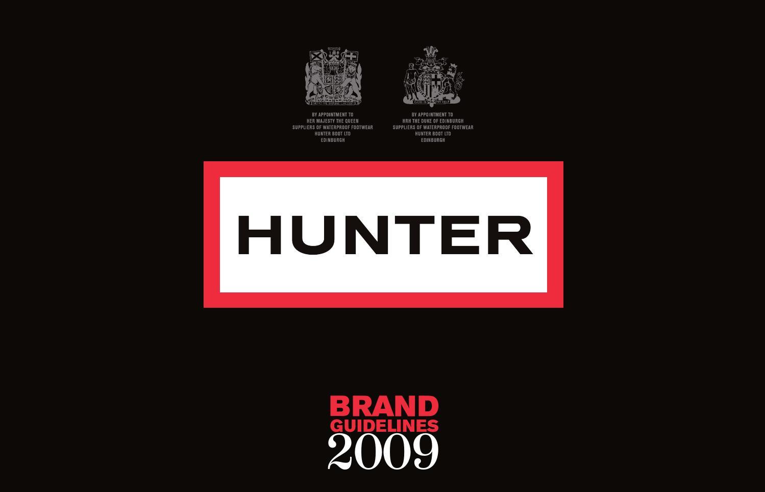 Hunter brand guidelines by SASTG - issuu