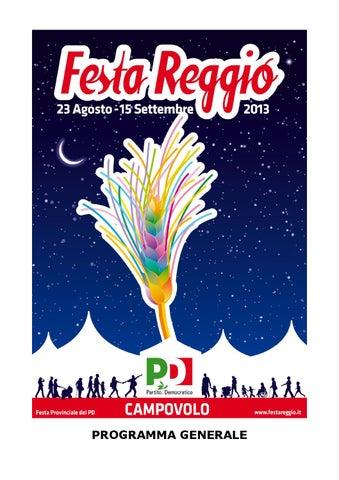 FESTAREGGIO 2013 PROGRAMA EBOOK