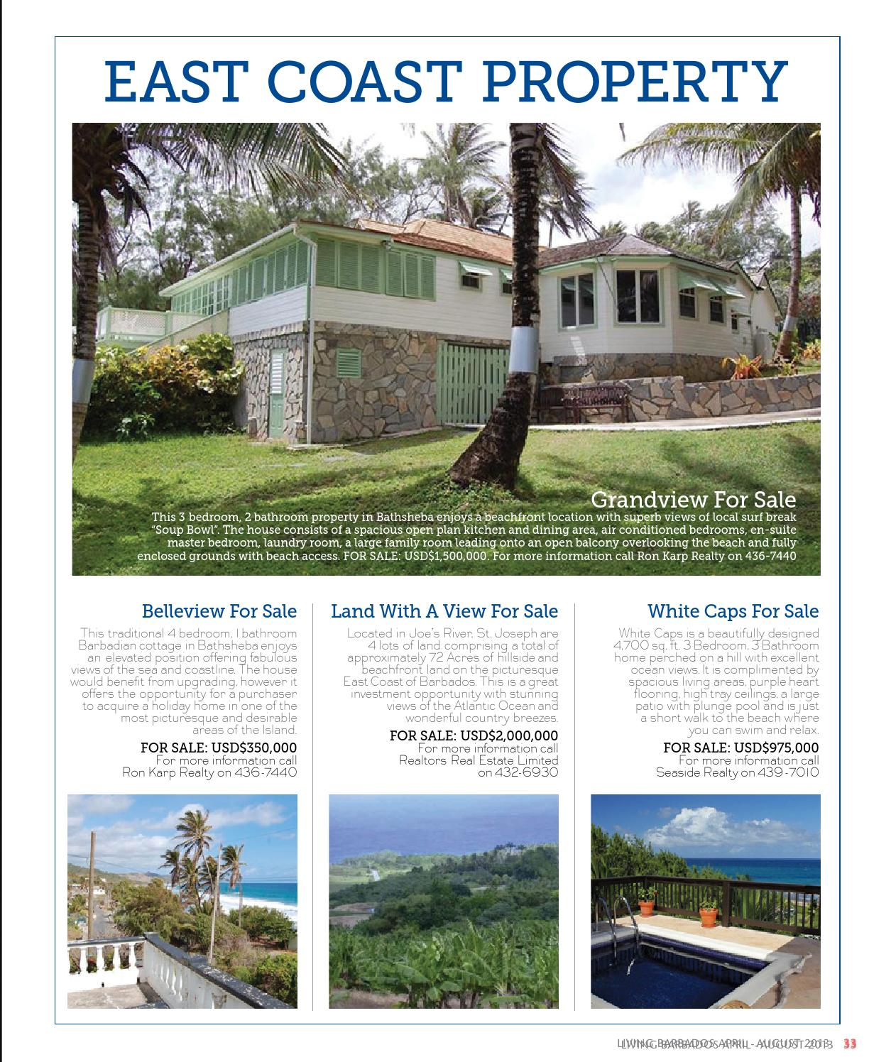 Living Barbados April 2013 Issue By Living Barbados Magazine   Issuu