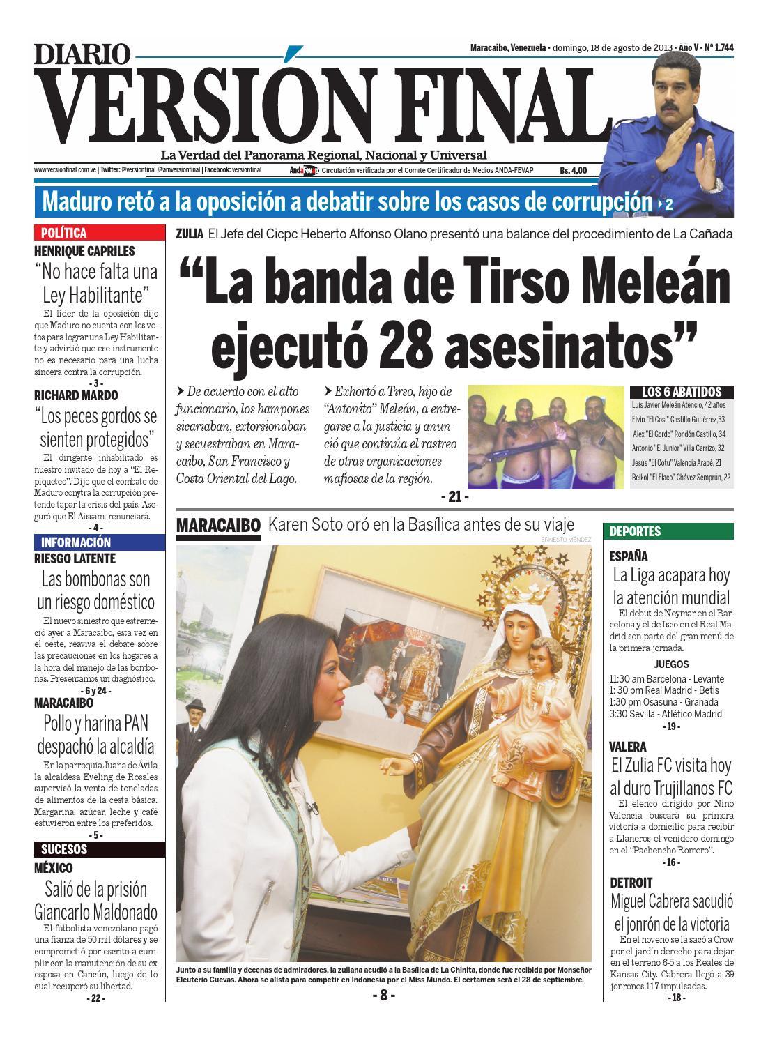 Diario Versión Final by Diario Versión Final - issuu af2c9aa5730db