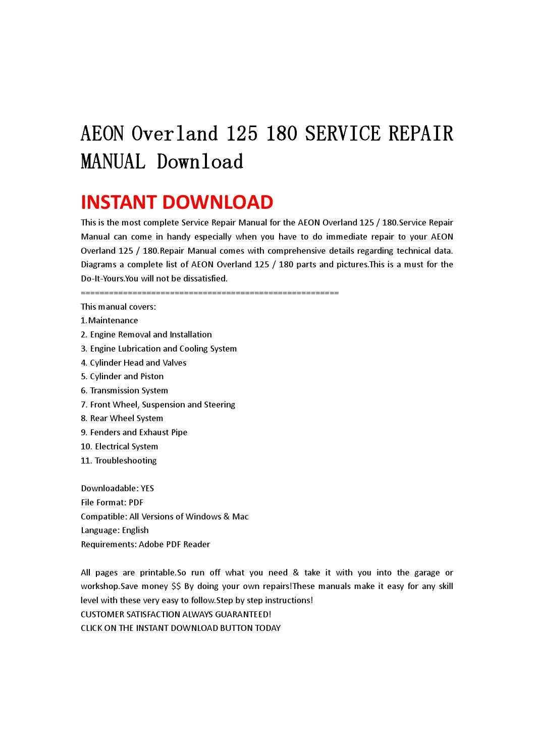 Aeon Overland 180 Manual Smart Remote Key Fob 4b For 20062008 Infiniti M35 M45 Cwtwbu618 Array 125 Service Repair Download By Jsefgsebh Rh Issuu Com