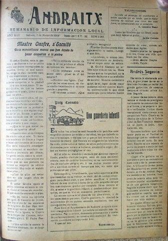 Andraitx març 1964 by Biblioteca Municipal d'Andratx - issuu