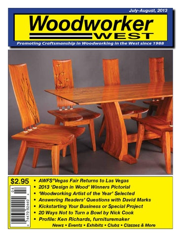 Woodworker West July August 2013 By Woodworker West Issuu