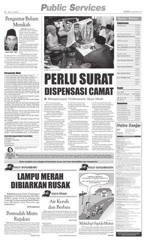 Metro Banjar Senin 19 Agustus 2013 By Harian Metro Banjar