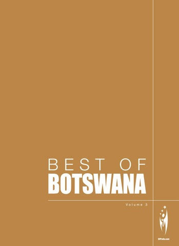 BEST OF BOTSWANA Volume 3 By Sven Boermeester Issuu