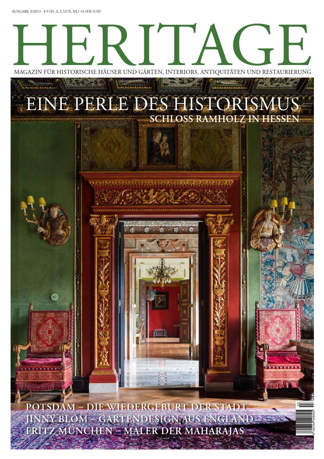 Heritage Magazin Nr. 03 / 2013 by Heritage Media & Marketing ...
