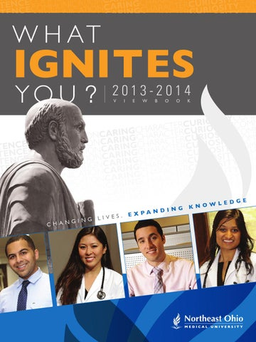 What Ignites You?   NEOMED 2013-2014 Viewbook by NEOMED - issuu