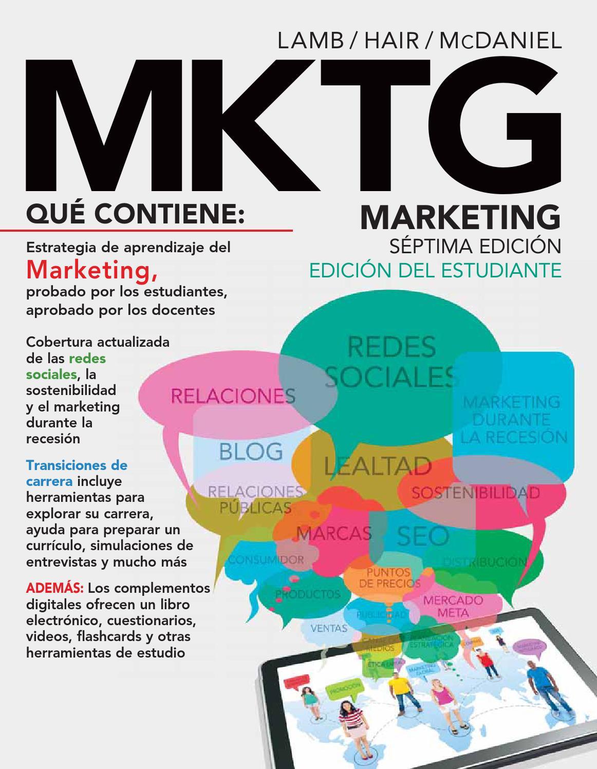 MKTG. Marketing. 7a. Ed. Charles W. Lamb, Joseph F. Hair y Carl ...