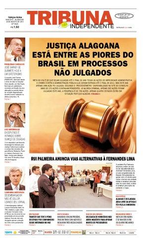 54931bccc Edição número 1825 - 20 de agosto de 2013 by Tribuna Hoje - issuu