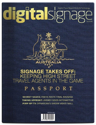 DigitalSignage issue 9 by Alchemedia Publishing - issuu