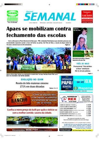 0299981f74 Versão impressa 9 de agosto de 2013 by Semanal Jornal - issuu
