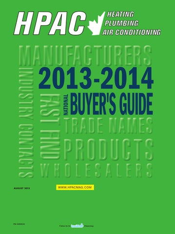 hpac july august 2013 buyers guide by annex newcom lp issuu
