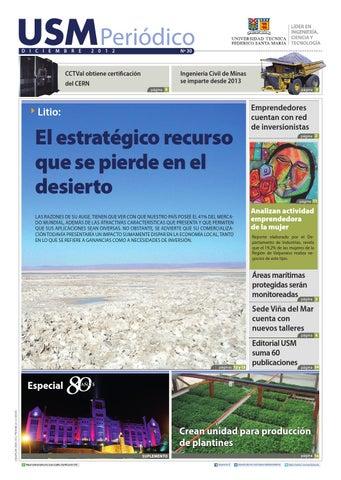 Edicin N 30 By Universidad Tcnica Federico Santa Mara Issuu