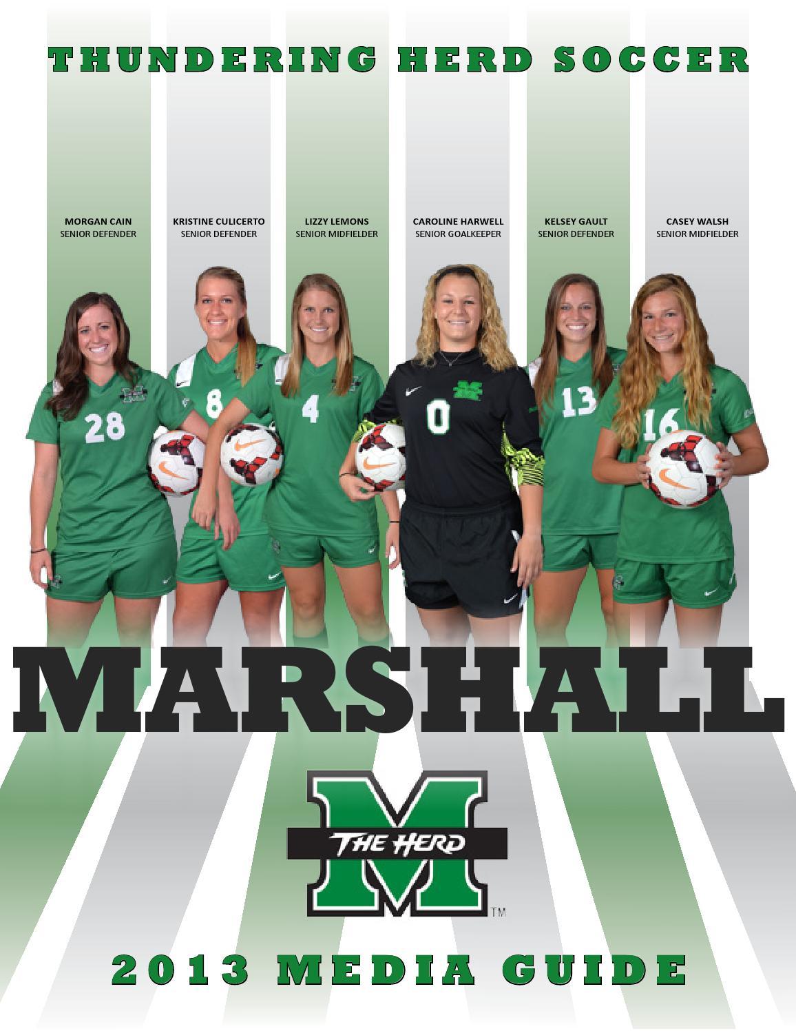 2013 Marshall Women's Soccer Media Guide by Marshall ...