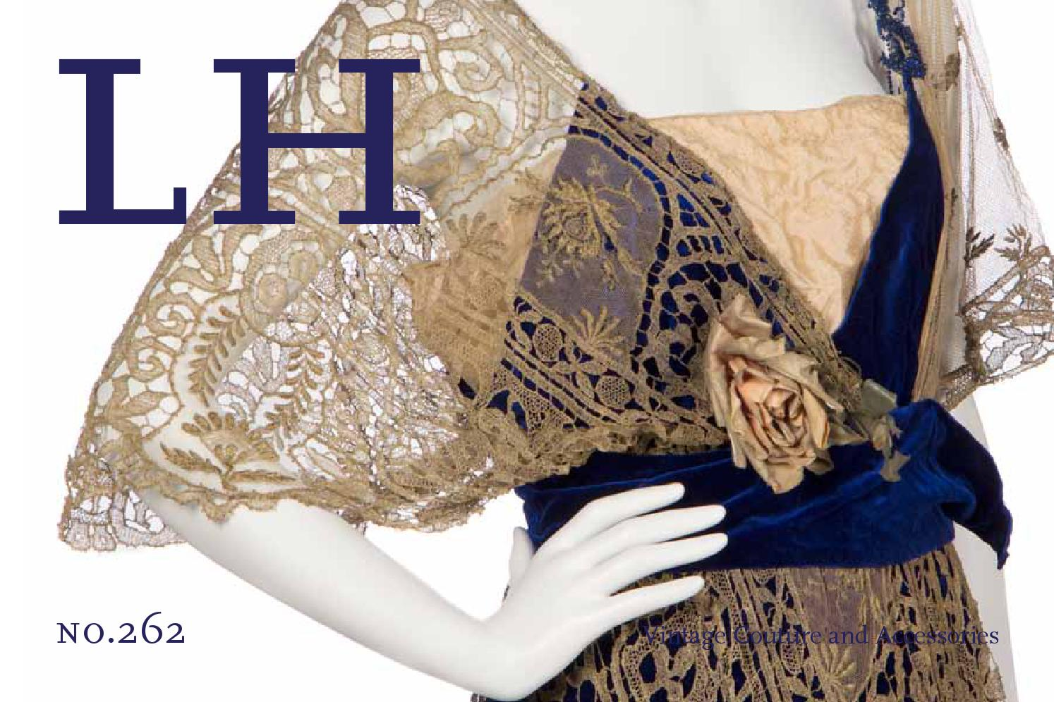 55e9dd4af9f Sale 262 | Vintage Couture and Accessories by Hindman - issuu