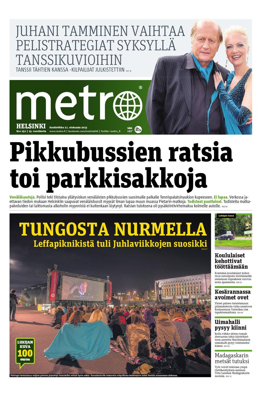 Pysäköintivirhemaksu Helsinki