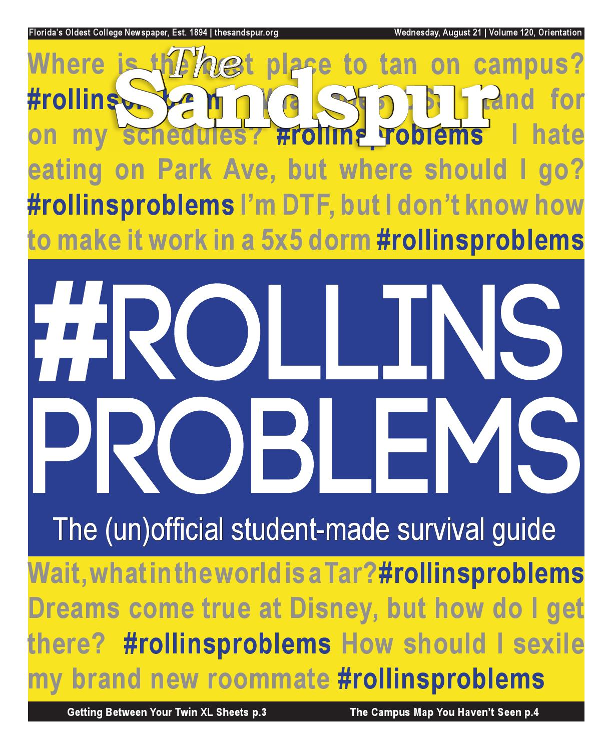 The Sandspur Volume 120 Orienation Issue By The Sandspur Issuu