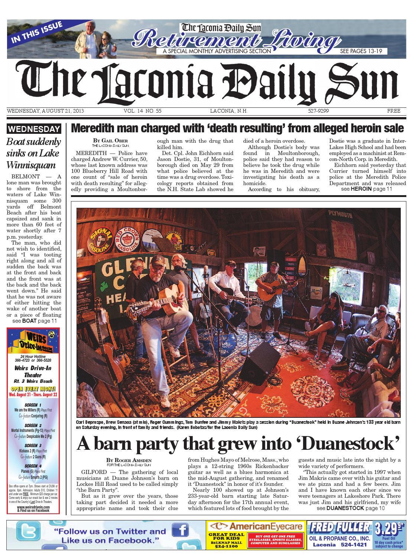 Thelaconiadailysun,august 21,2013 by Daily Sun - issuu