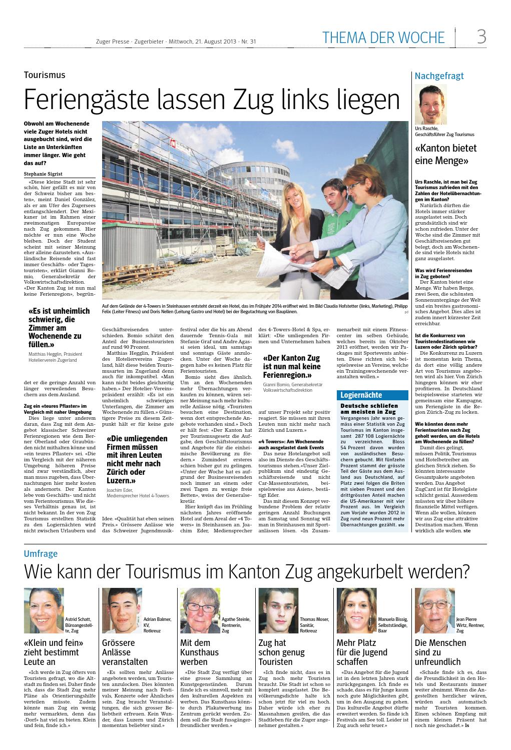 Zuger presse 20130821 by Zuger Presse Zugerbieter issuu