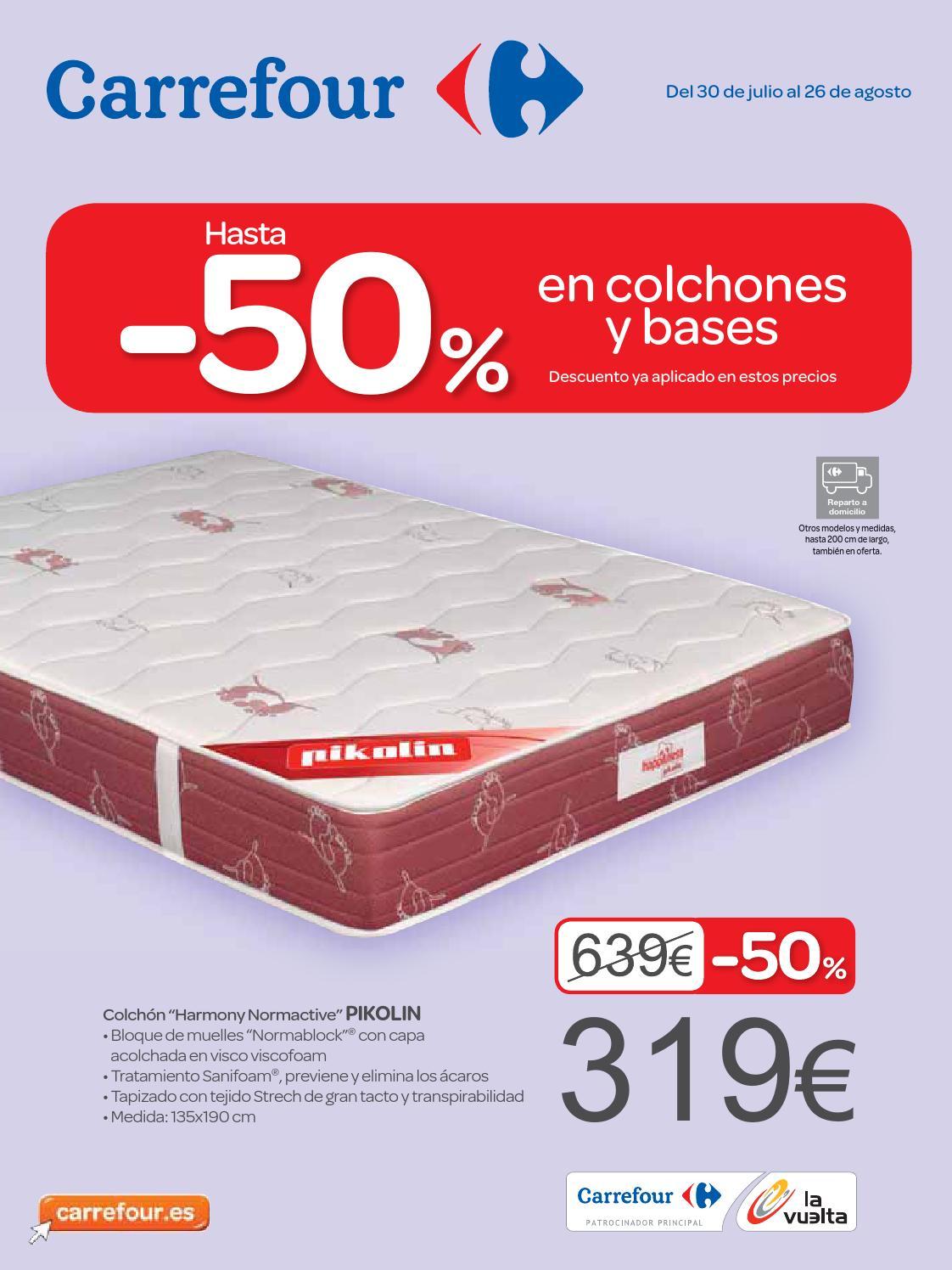 Descuento en colchones de Carrefour by Hackos ECC   issuu