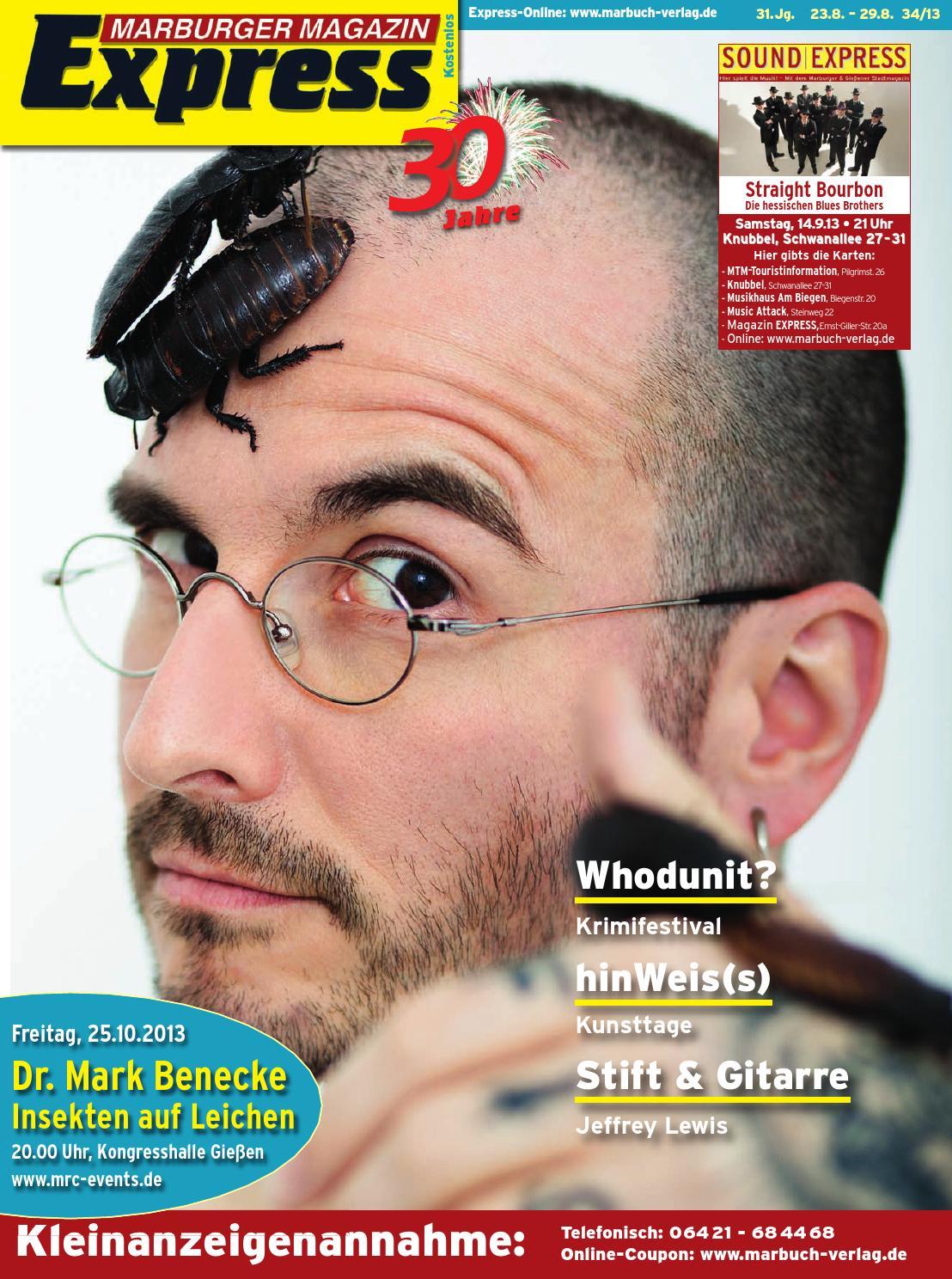 Marburger Magazin Express 34 2013 By Ulrich Butterweck Issuu
