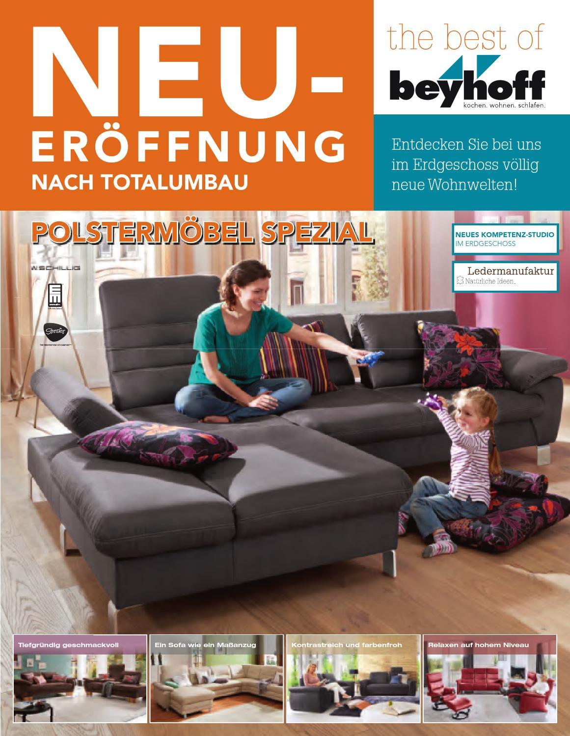 Möbel Beyhoff : Polstermöbel Spezial by Möbel Beyhoff GmbH Beyhoff ...