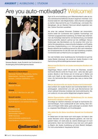 page 38 - Continental Bewerbung
