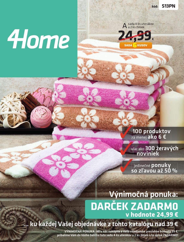 4Home - katalóg Jeseň 2013 SK by 4home 37dd4921199