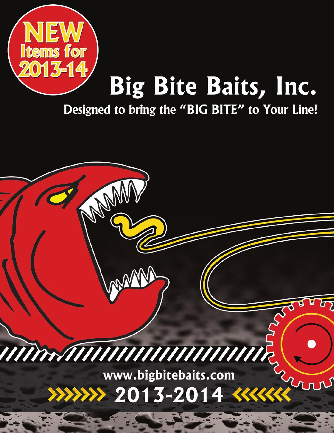 Big Bite Baits 2013 termékkatalógus by LaNiTex Kft  - issuu