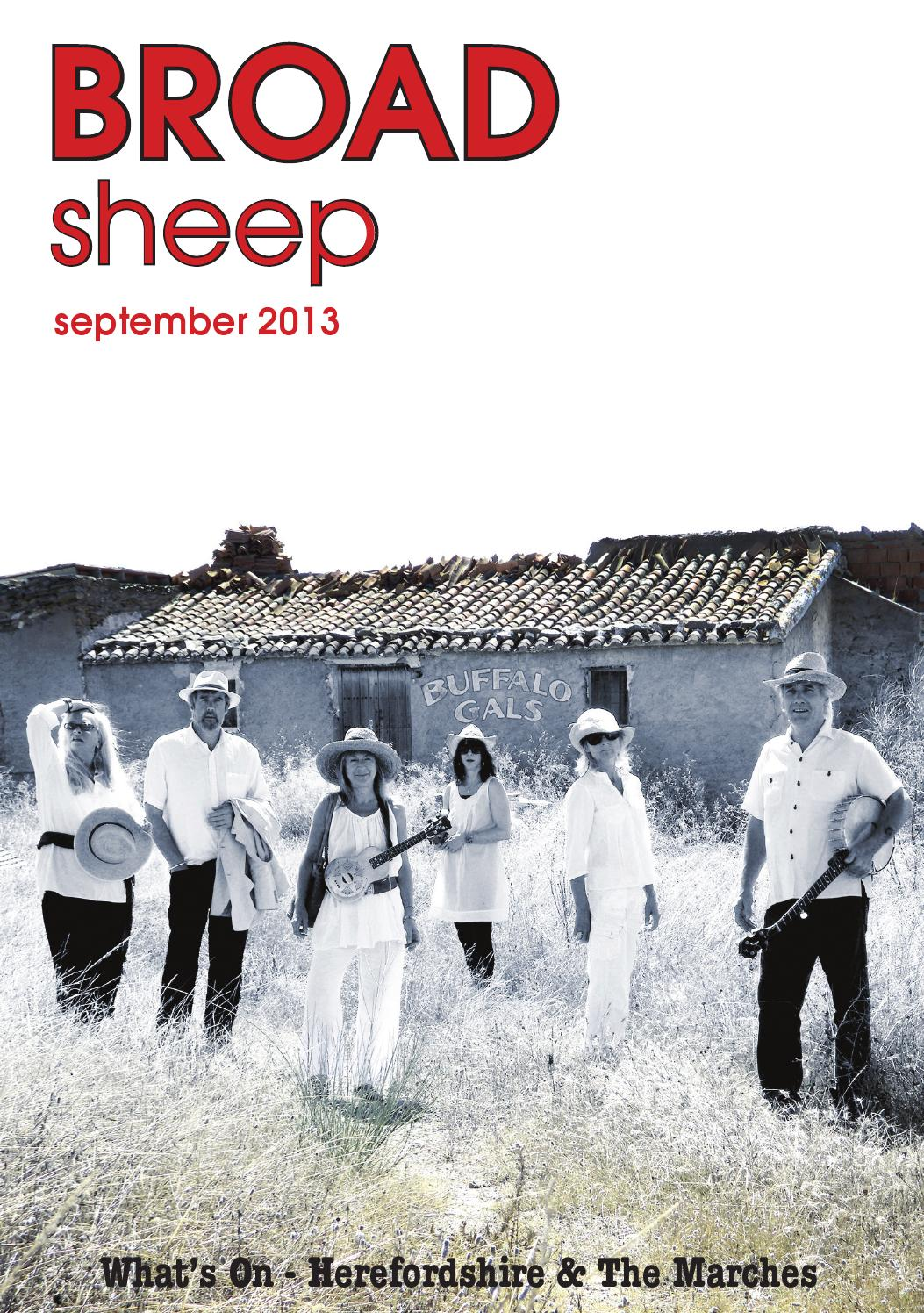 Broad Sheep September 2013 By Broadsheep Issuu Frame Pato Fx 1 Alloy