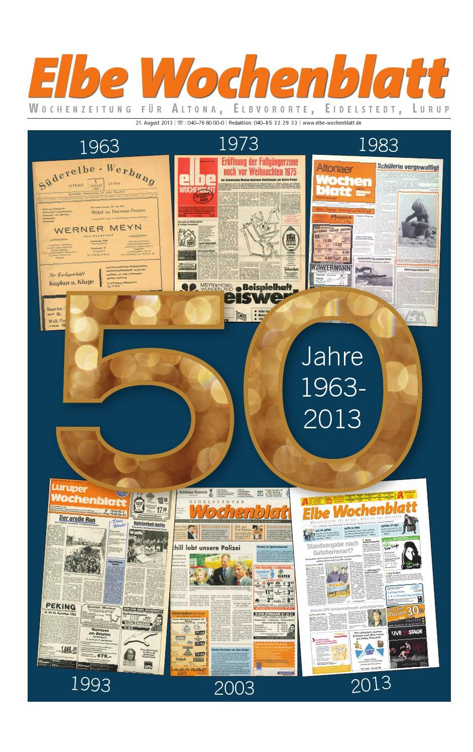Elbe 50 West by Elbe Wochenblatt Verlagsgesellschaft mbH & Co.KG - issuu