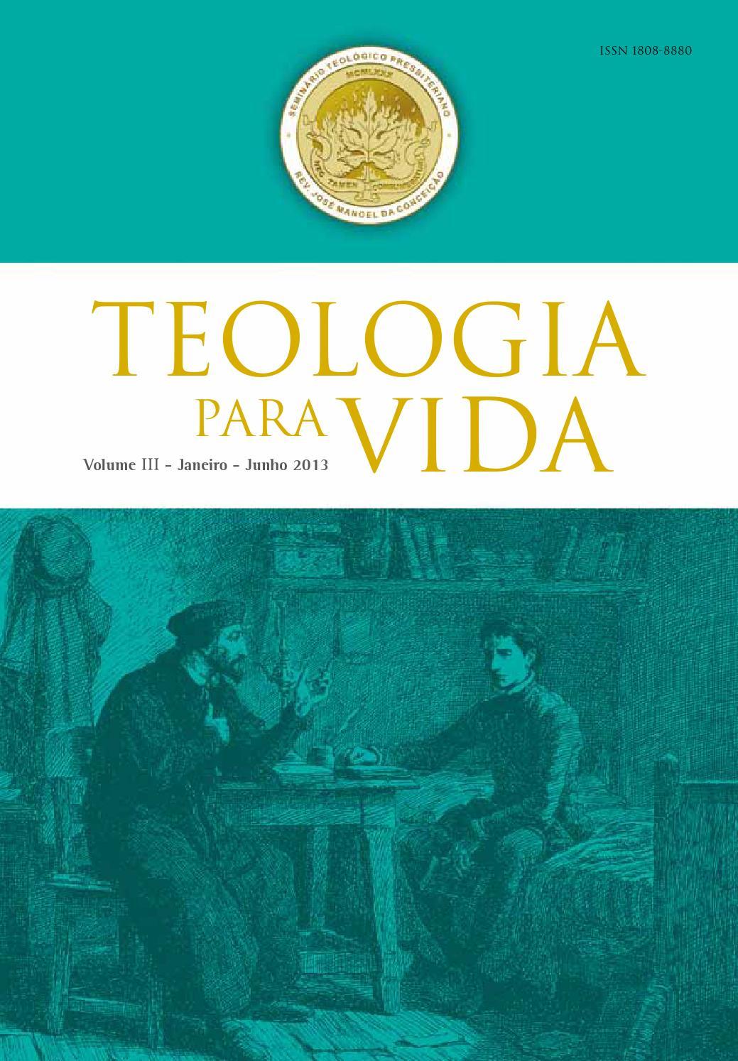 Teologia para vida v iii n 1 by revista teologia para vida issuu fandeluxe Choice Image