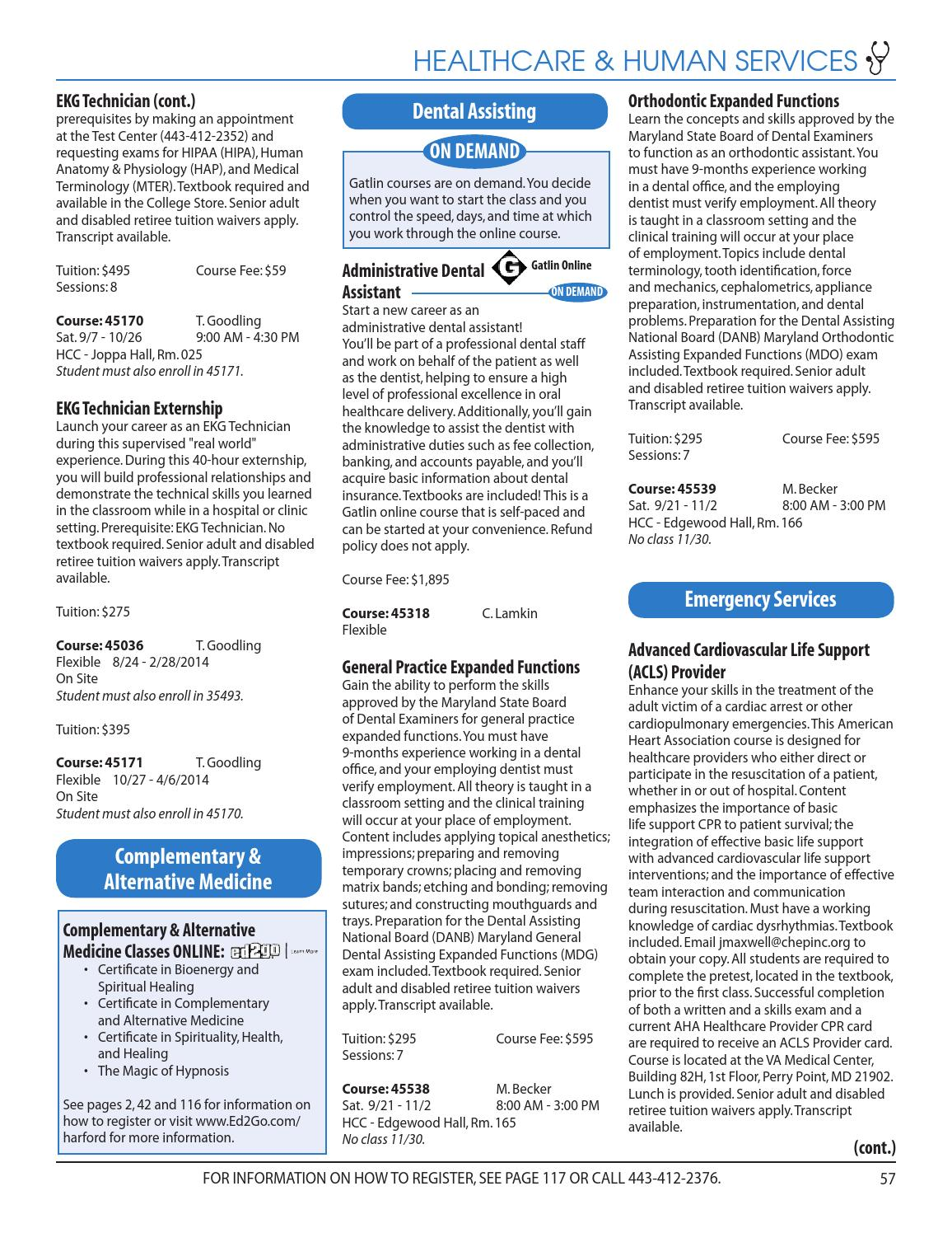 Hcc fall noncredit schedule by harford community college issuu 1betcityfo Choice Image