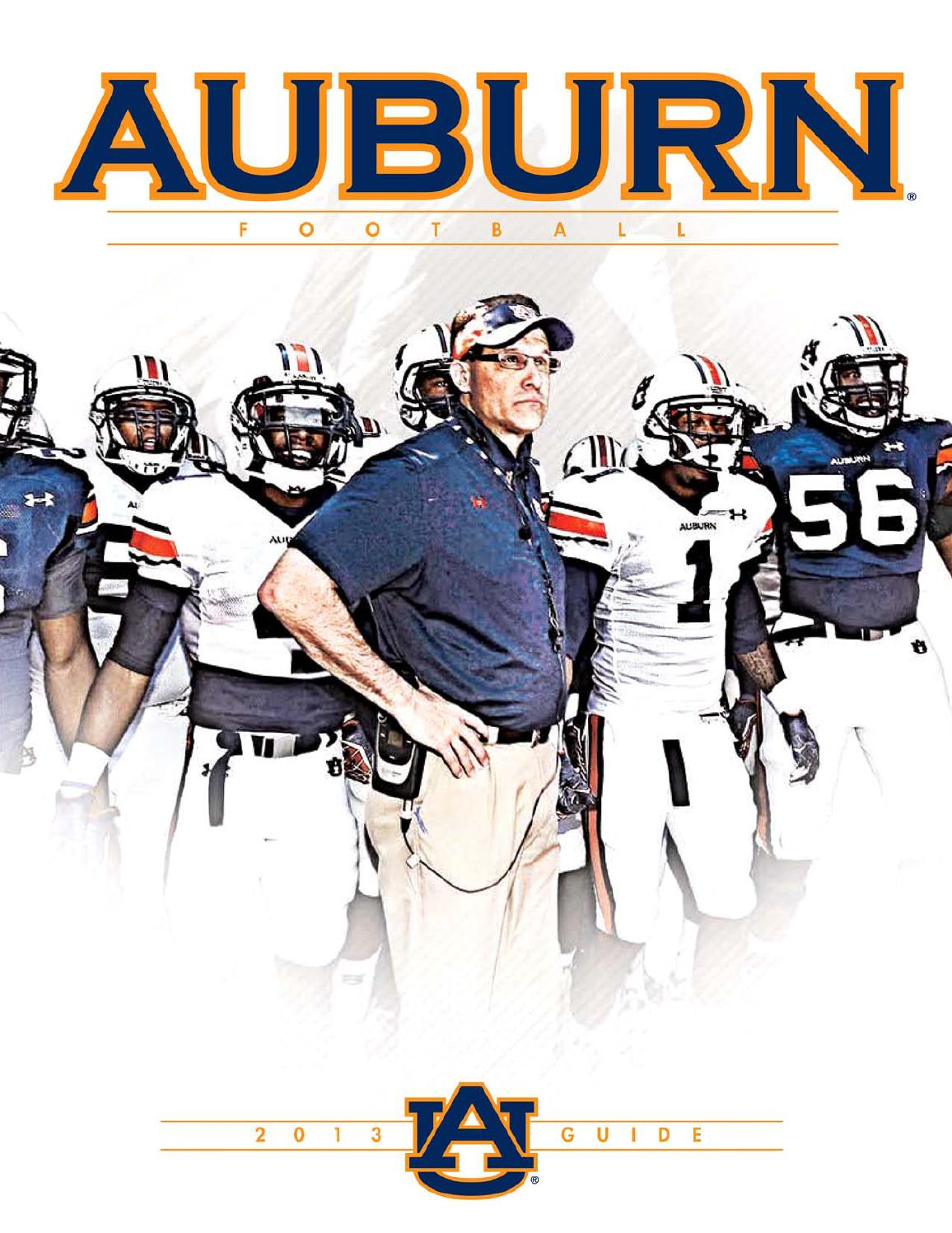 9ba3e9bd 2013 Auburn Football Guide by Auburn Athletics Department - issuu