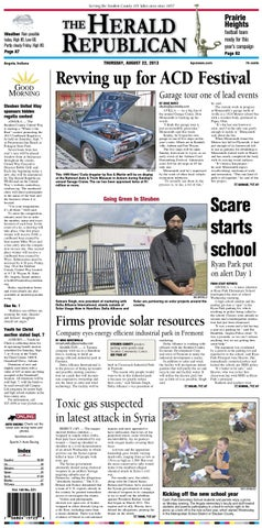 879d5792db The Herald Republican – August 22, 2013 by KPC Media Group - issuu