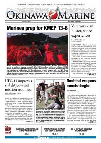 b1e27d7d4dc Okinawa Marine Aug. 23 issue by Okinawa Marine III MEF MCIPAC - issuu