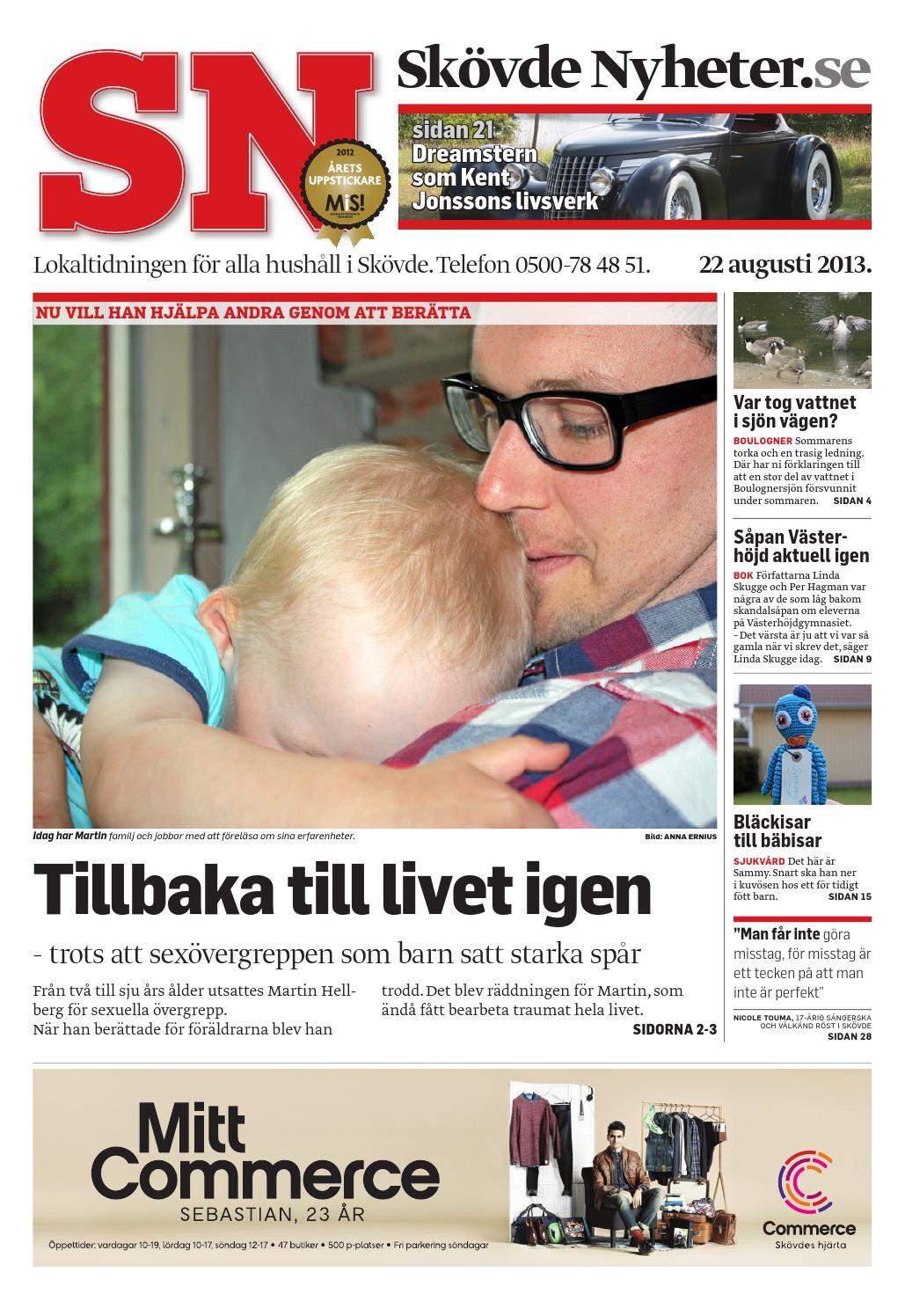 Sn 130822 by Skövde Nyheter - issuu ef691aea604ed