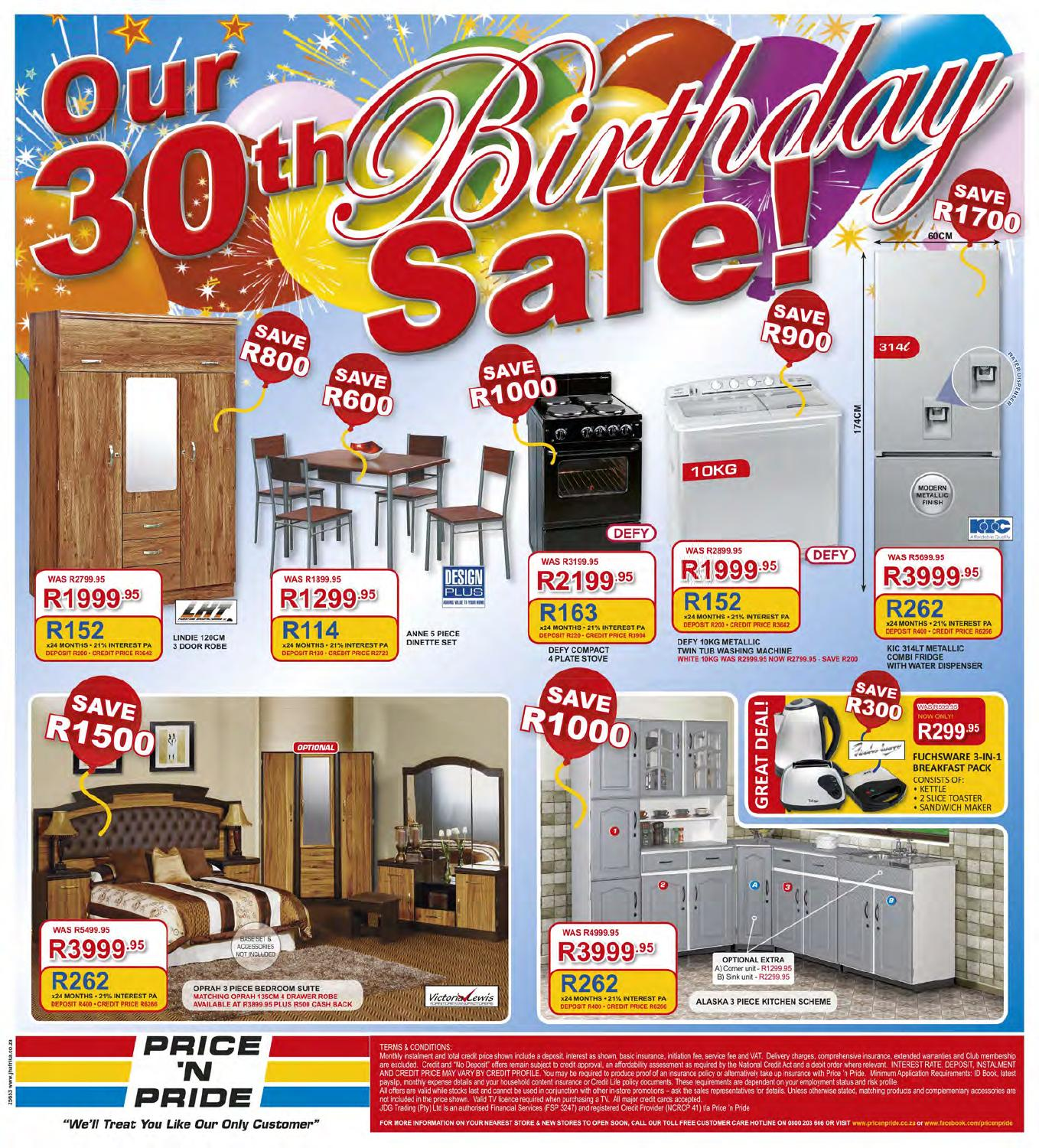 Price N Pride Birthday Specials Catalogue By Jd Group Issuu