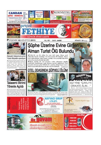 Gercek Fethiye Gazetesi By Sedat Unal Issuu